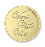 Mi Moneda Munt Dolce Vita & Veni Vidi Vici Gold plated MON-DOL-02