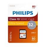 Philips Class 10 SDHC 32 GB geheugenkaart FM32SD45B