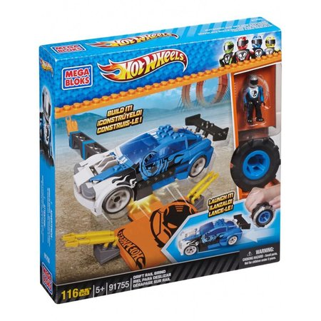 Mega Bloks Hot Wheels Drift Baanset - Constructiespeelgoed