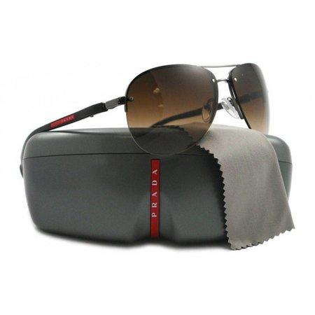 Prada Sport heren zonnebril gunmetal PS 56MS 5AV6S1