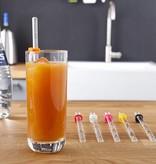VacuVin cocktail recept sticks - set van 6