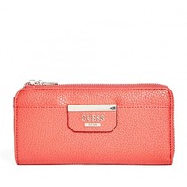Bobbi slim dames portemonnee rood