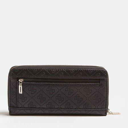 Guess Bobbi dames portemonnee zwart SWEM6422460/BLA