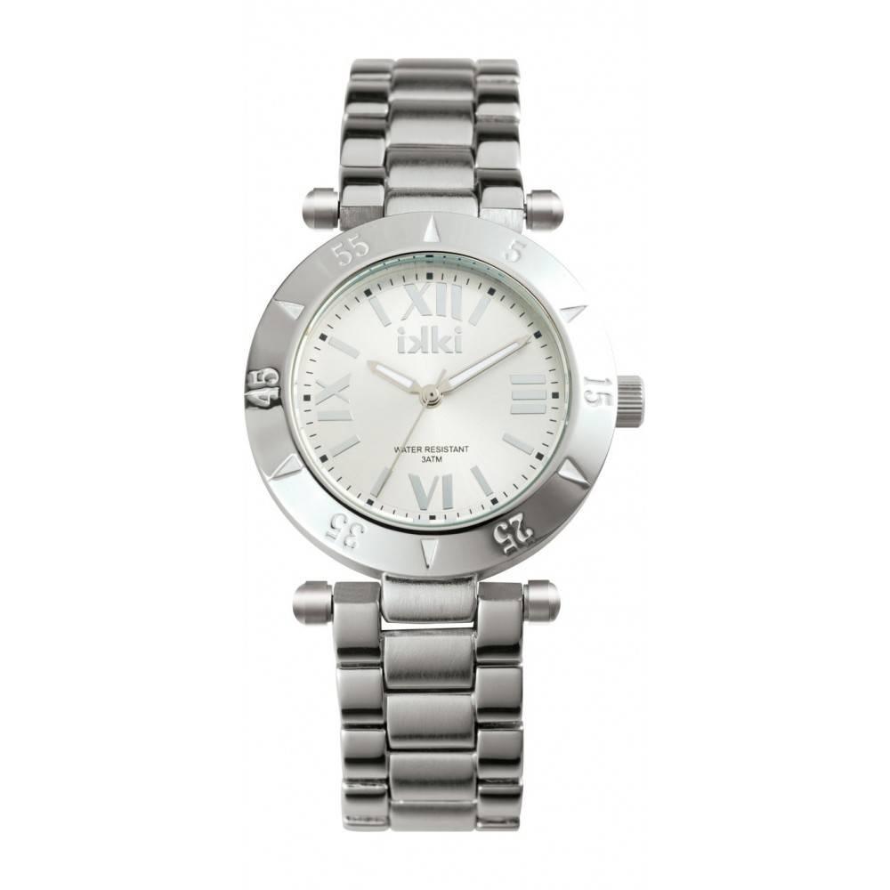 IKKI Daisy zilverkleurig Horloge D1M