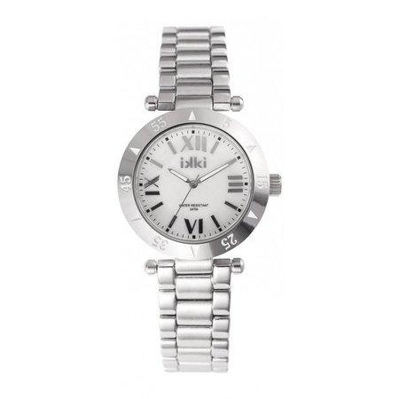 IKKI Daisy zilverkleurig Horloge D8M