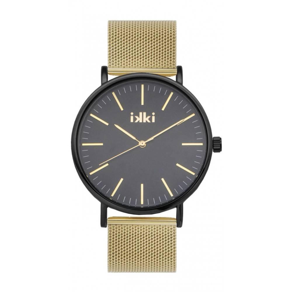 IKKI Danny Goud/Zwart Horloge DA81