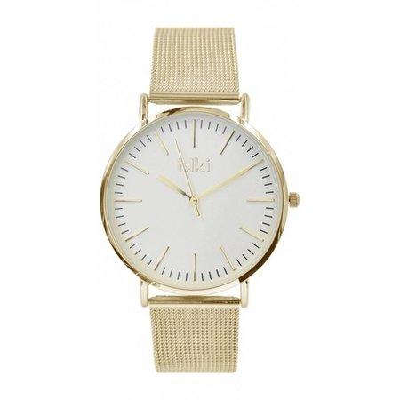 IKKI Danny goudkleurig Horloge DA76