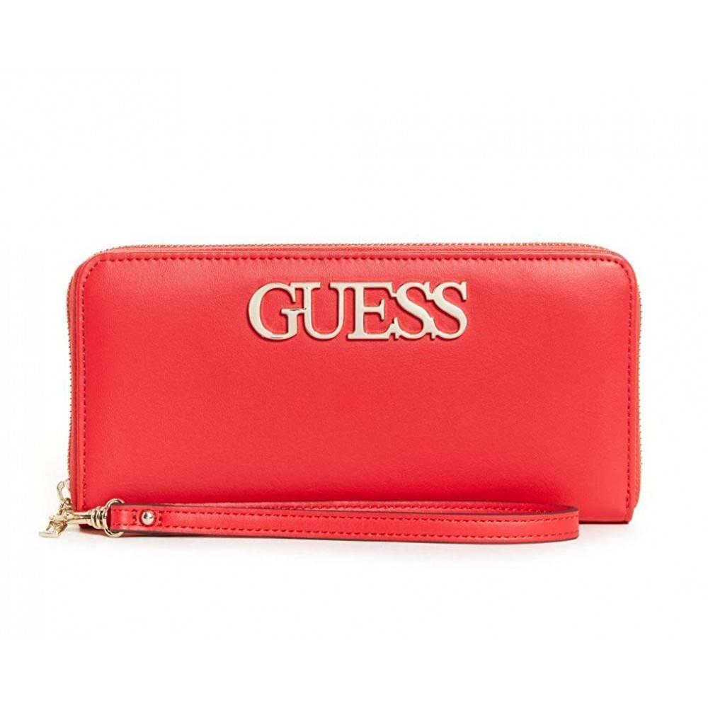 Guess Felix Lrg dames portemonnee lipstick SWVG6876460/LIP