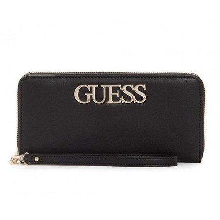 Guess Felix Lrg dames portemonnee zwart SWVG6876460/BLA