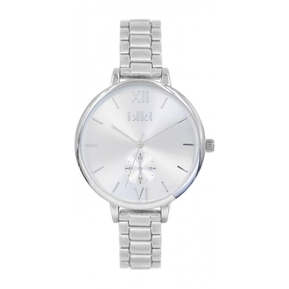 IKKI Estelle zilver Horloge ET05