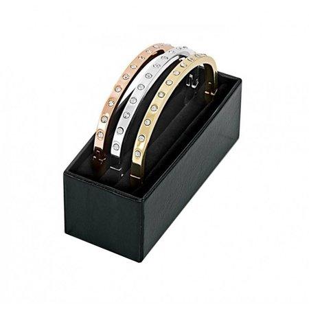 Pierre Cardin armbanden trio met strass