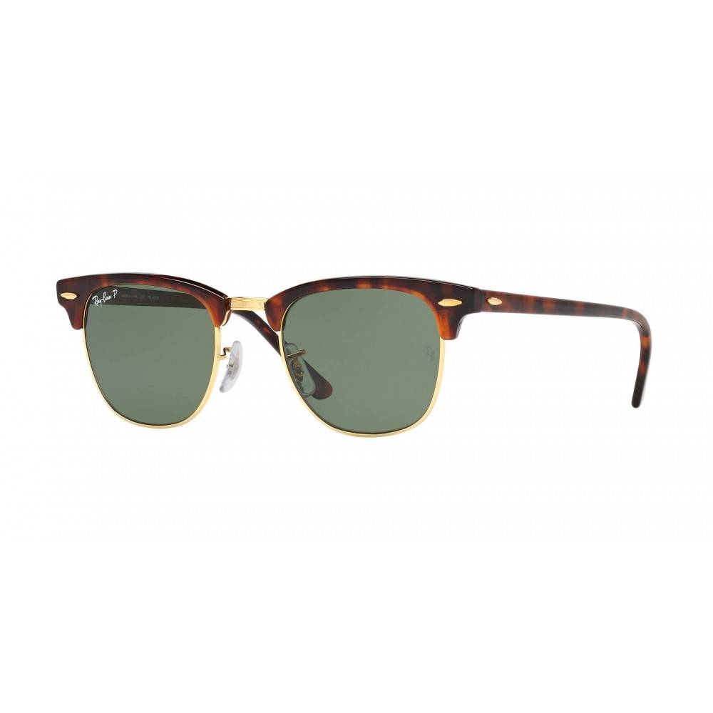 Ray Ban Clubmaster zonnebril Browline RB3016 1145/30