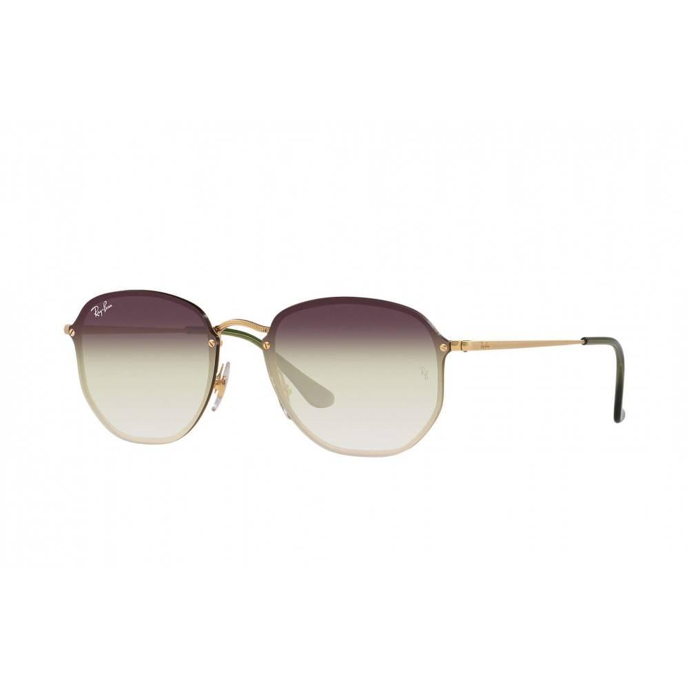 Ray Ban Blaze Hexagonal zonnebril RB3579N 9140/0R