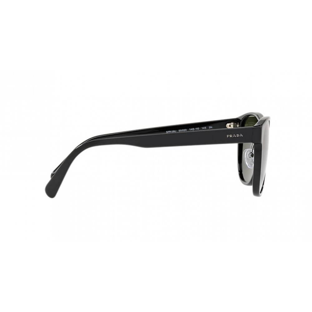 3b2be205436712 Prada zonnebril zwart PR 09US 1AB1I0