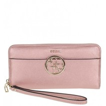 Kamryn dames portemonnee metal roze