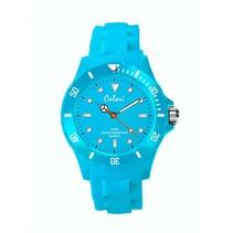 Classic 5 Horloge Licht Blauw