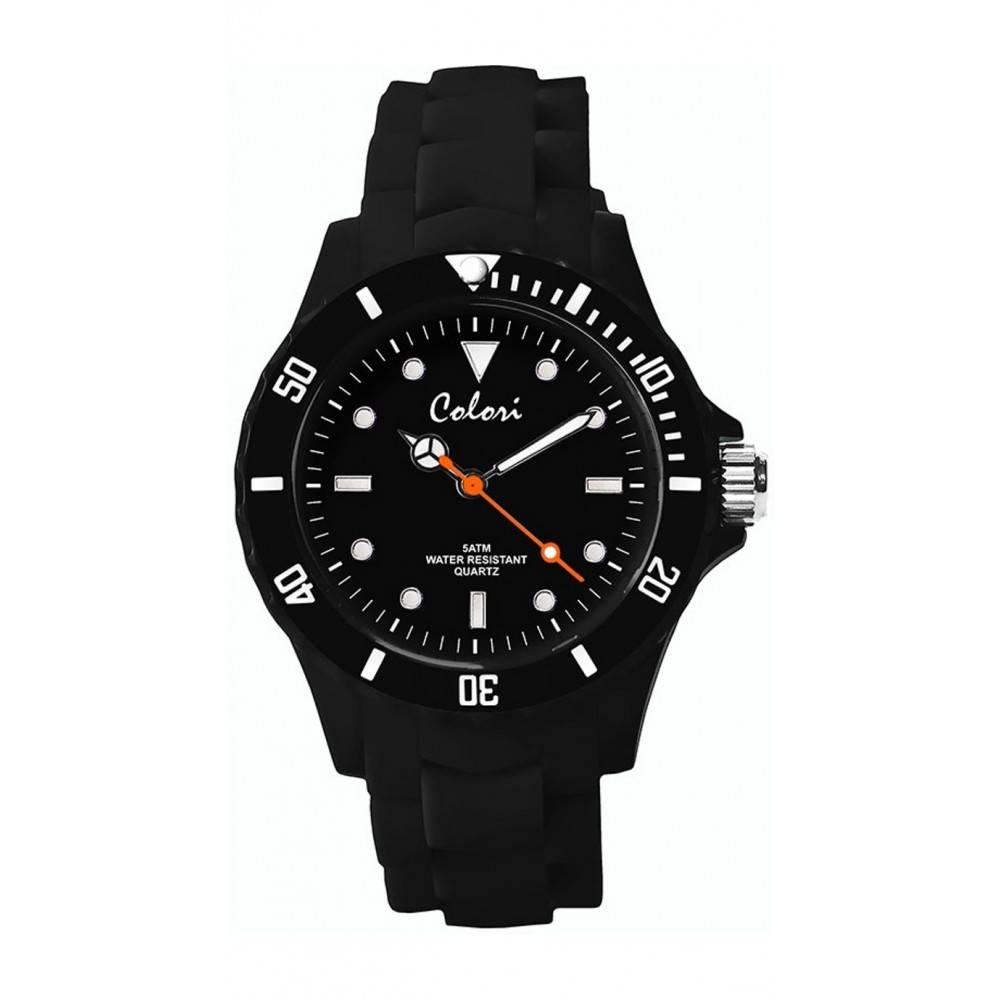 Colori Classic 5 Horloge zwart COL341