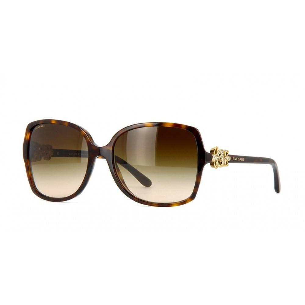 Bvlgari dames zonnebril dark havana BV8120B 504/13