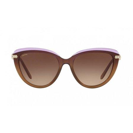 Bvlgari dames zonnebril bruin-lila BV8211B 5463/13