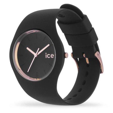 Ice Watch Jorloge Glam zwart rose gold - Ø43mm 000 980
