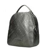 Love Moschino dames rugzak metallic pewter JC4036PP16