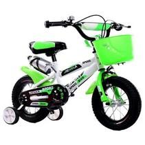 BMX kinderfiets 12 inch wit-groen