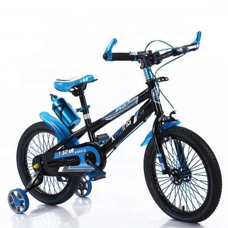 BMX kinderfiets 16 inch zwart-blauw