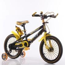 BMX kinderfiets 16 inch zwart-geel
