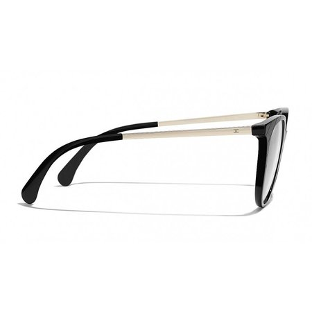 Chanel bril-montuur zwart CH3378 C501