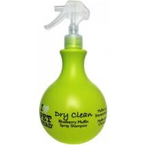 Dry clean spray