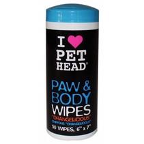 Paw & body wipes