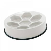 Honeycomb slow feeding bowl