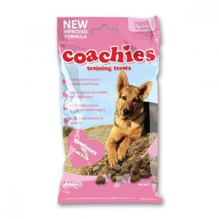 Coachies Coachies puppy training treats  chicken (75g) TCPB