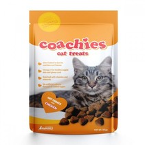 Coachies cat treats chicken hairball prefention (65g)