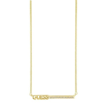 Guess ketting Lineair goudkleurig UBN82034
