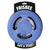 Lets play! Frisbee blauw