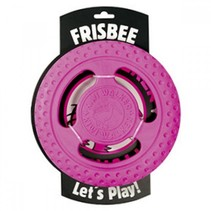 Lets play! Frisbee roze