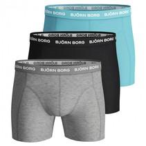 basic boxershorts 3-pak