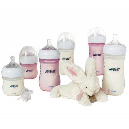 Philips Avent Starterset voor pasgeborenen roze