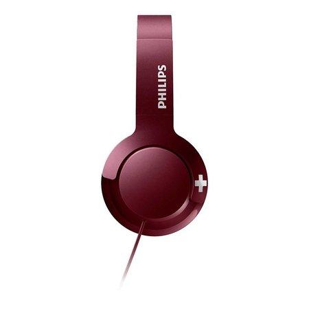 Philips On-ear koptelefoon - bordeaux rood SHL3075RD/00