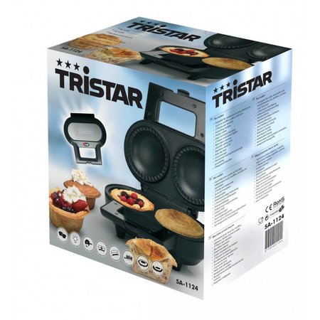 Tristar taart-, wafel-maker SA-1124