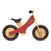 Chalkboard Kinderloopfiets - Rood