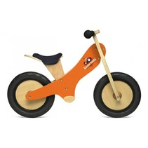 Chalkboard Kinderloopfiets - oranje