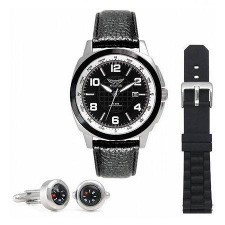 Aviator heren horloge AVX3499G3