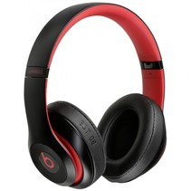 Studio3 draadloos hoofdtelefoon defiant black-red