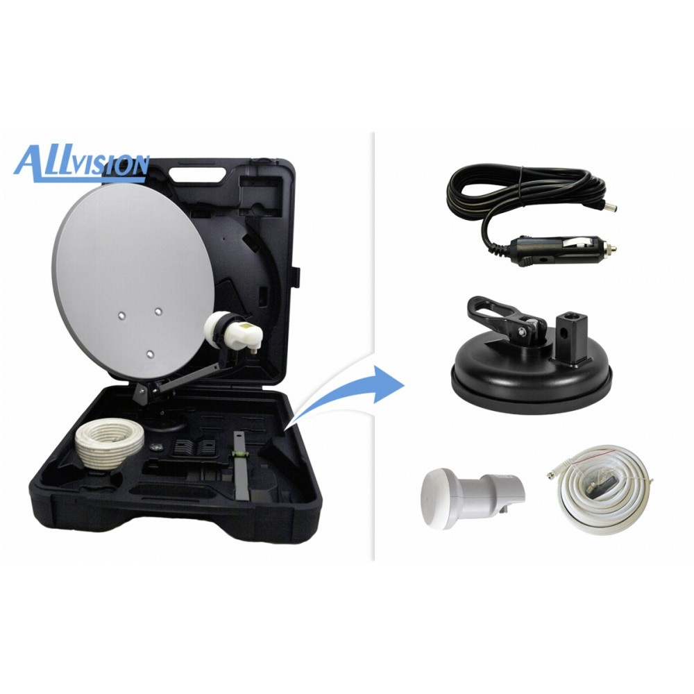 Afbeelding van Allvision campingkoffer-HD Mobil-Basic 9101568