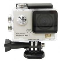 GoXtreme Vision 4K ULTRA HD actiesportcamera zilver