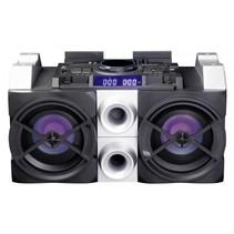 PA-Speaker 150W DJ-mixer inclusief draadloze microfoon