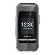 ONE senioren telefoon zilver/grijs