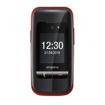 ONE zwart/rood Mobiele telefoon